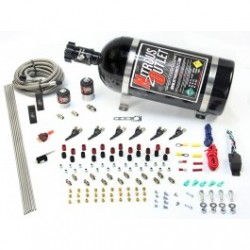 6 Cylinder 2 Solenoid Direct Port System With Distribution Blocks - E85 Compatible