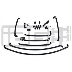 IAG Performance PTFE Fuel Line Kit for use w/ COBB Flex Fuel Sensor in the 08-14 WRX