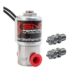Snow Performance High Flow Water-Methanol Solenoid Upgrade Quick-Connect Fittings